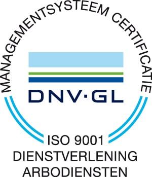 Logo DNV GL ISO 9001